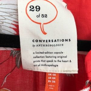 Anthropologie Tops - Anthropologie conversations blouse size 4 NWOT